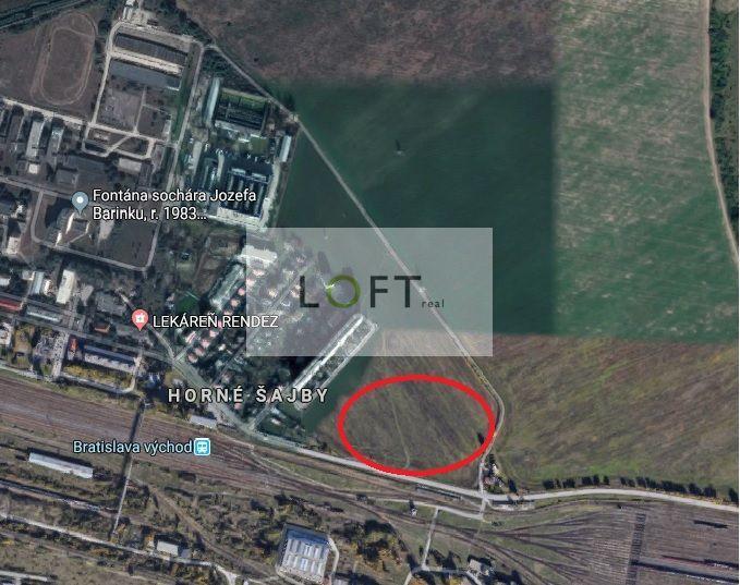 Orná pôda-Predaj-Bratislava - mestská časť Rača-125.00 €