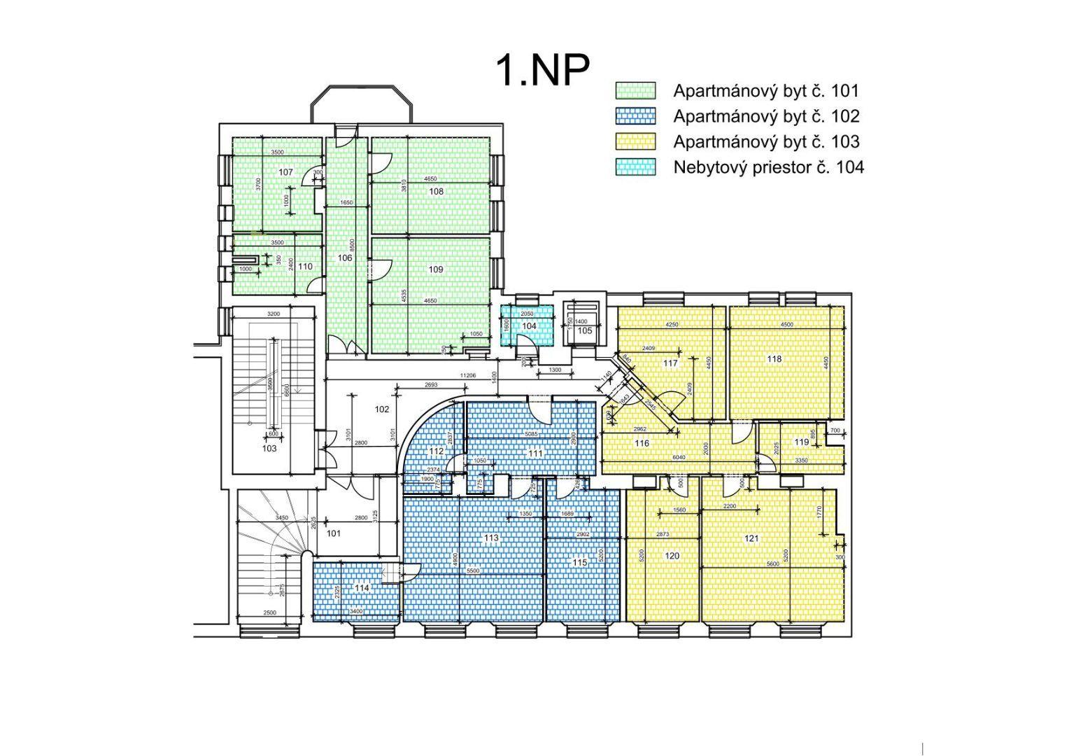 3 izbový byt po rekonštrukcii Staré Mesto BA-I.