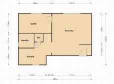 2 izb. byt, ORAVSKÁ ul., vlastné kúrenie, TEHLA, po novej REKONŠTRUKCII
