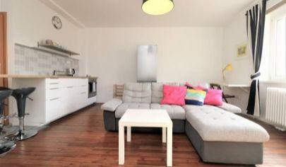 PRENÁJOM - zariadený 2 izbový byt 45 m2 pri Trnavskom mýte, ul. Šancova
