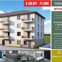 3 izbový byt, Partizánske, 62 m², Novostavba