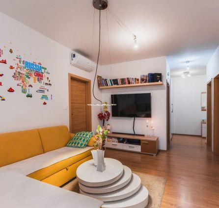 3 izb. byt s loggiou  garážové státie, novostavba, ul. Kazanská