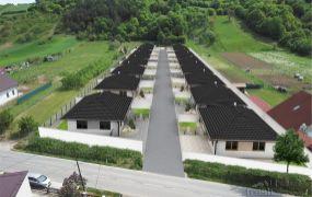 Na predaj 16x  novostavba rodinný dom - bungalov 4 izbový, 127 m2, pozemok cca 500 m2, Mikušovce.