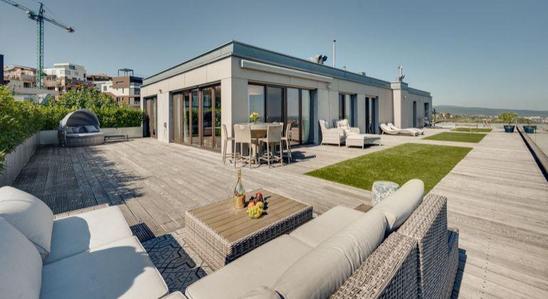 Exkluzívny Penthouse s terasou na Kolibe v projekte Parkville