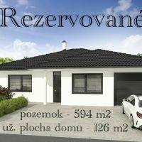 Rodinný dom, Dolná Krupá, 126 m², Vo výstavbe