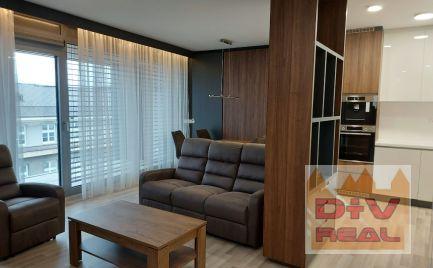 Na prenájom nadštandardný 3 izbový byt s balkónom, parkovanie v garáži, Staré mesto, novostavba pri EUROVEA