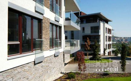 PRENÁJOM luxusného 2-izbového bytu pri Horskom Parku, Bratislava-Staré Mesto EXPISREAL