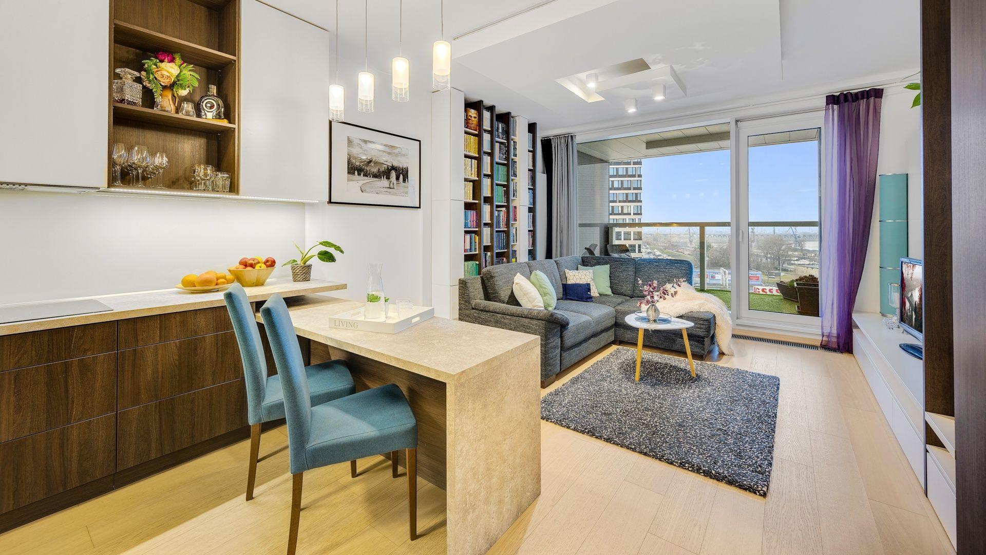 DELTA   PANORAMA CITY - Zariadený 2 izbový byt v novostavbe, Landererova ul., Staré Mesto, 60 m2