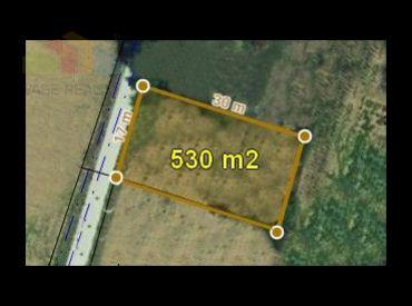 Stavebný pozemok  530 m2 Merašice, okr. Hlohovec