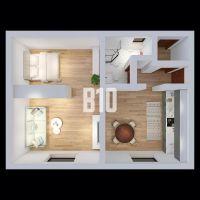 1 izbový byt, Púchov, 58 m², Pôvodný stav