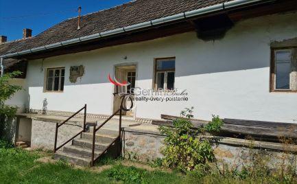 GEMINIBROKER v obci Kovácsvágás ponúka rodinný dom gazdovského typu