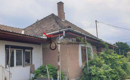 GEMINIBROKER v obci GONC ponúka rodinný dom na predaj