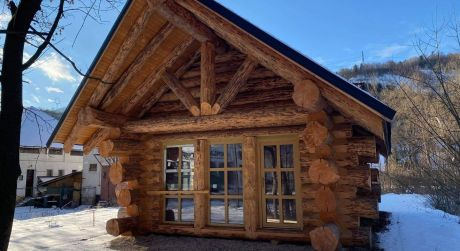 Märchenhaftes 2 Schlafzimmer Haus aus Holz im Ungarn an der Grenze Nickeldorf – Hegyeshalom - Siedlung Marialiget