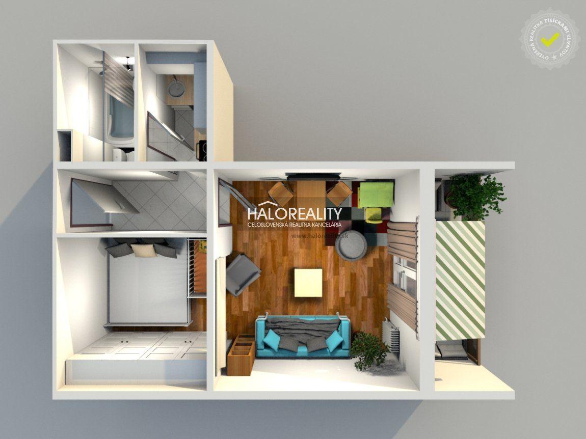 1-izbový byt-Predaj-Bratislava - mestská časť Nové Mesto-105000.00 €