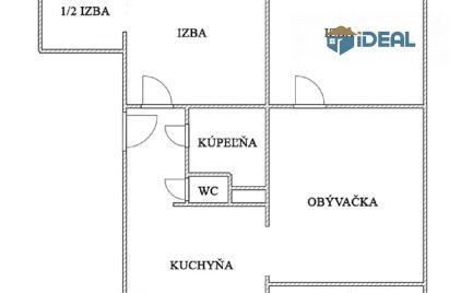 3,5 izbový byt, Sekčov (pod Šalgovíkom)