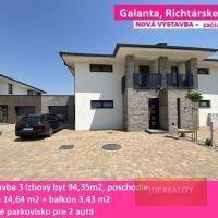 3 izbový byt, Galanta, 94 m², Novostavba