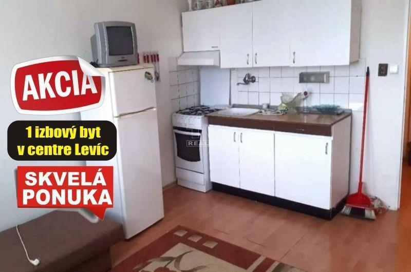 1-izbový byt-Predaj-Levice-48990.00 €