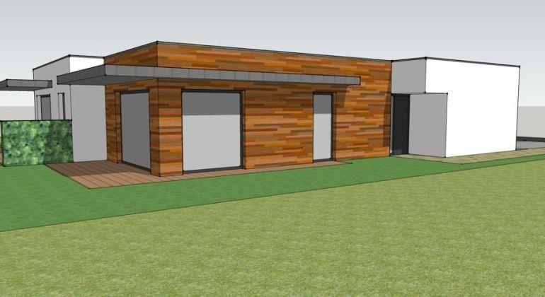 Pozemky s projektom na rodinný dom v Bernolákove