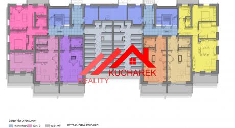 Kuchárek-real: Novostavba -2-izbový byt v Pezinku na Muškáte dvoma balkónmi D5-A-102.