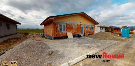 NA PREDAJ novostavba bungalovu v Klobušiciach
