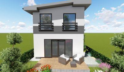 EXKLUZÍVNE na predaj novostavba samostatne stojaceho  4i RD, v tichej časti obce Vištuk, len 8km od Modry