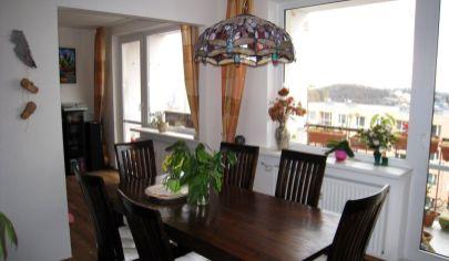 Predaj – Veľkometrážny 6 izbový byt s dvomi loggiami s výhľadmi na mesto – Kramáre. TOP PONUKA