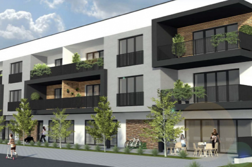 Rajecké Teplice II etapa projekt - 1 izbový byt