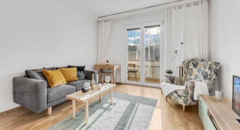 Slnečný zrekonštruovaný 1,5 izbový byt s loggiou v Ružinove exkluzívne na predaj