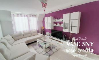 REZERVOVANÉ - LEN U NÁS! Na predaj kompletne zrekonštruovaný 2-izbový byt v centre Dubnice nad Váhom