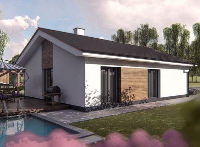 Nové rodinné domy na predaj - bungalov, Socovce okres Martin, pozemok 550 m2.