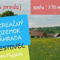 Rekreačný pozemok, Brestovec, 270 m², Pôvodný stav