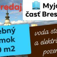 Pre rodinné domy, Brestovec, 2410 m², Pôvodný stav