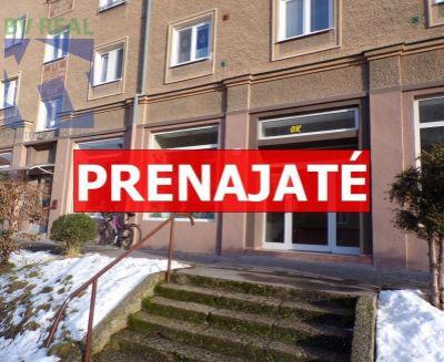 REZERVOVANÉ Na prenájom komerčný priestor 138,34 m2 Prievidza FM1017