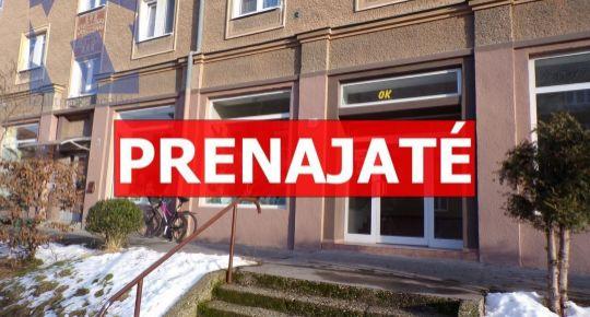 PRENAJATÉ Na prenájom komerčný priestor 138,34 m2 Prievidza FM1017