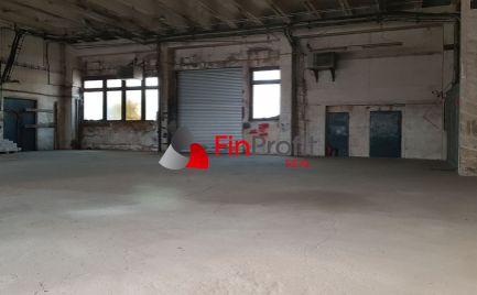 Prenajmem halu + kanceláriu na výrobu, sklad, servis v Nitre - JUH, R1.