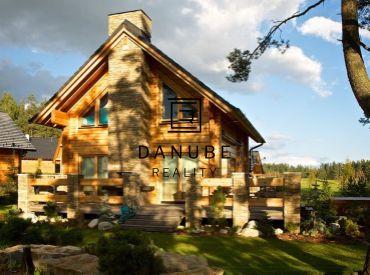 Predaj lukratívne stavebné pozemky na hranici golfového areálu Veľká Lomnica.