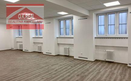 Ponúkame na prenájom kancelárske priestory v novozrekonštruovanej budove na Gunduličovej ulici v centre Bratislavy
