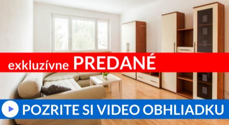 REZERVOVANÉ EXKLUZÍVNE 3-i (69m2) byt s krásnym výhľadom - Brezovec