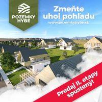 Pre rodinné domy, Hybe, 573 m²