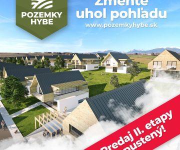 Stavebné pozemky na predaj Hybe - Peňažné