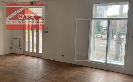 Ponúkame na prenájom nebytový priestor o výmere 44m2 s výkladom na Záhradníckej ulici, BA II. Ružinov.