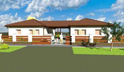 Predaj - 4 izbový rodinný dom - novostavba/typ Bungalov - Dunakility. HU