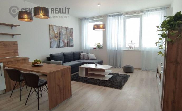 Nový, čistý, krásne zariadený 2-izbový byt (57,5 m2), loggia, parkovanie, Miloslavov
