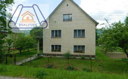 Na predaj rodinný dom v Nosiciach