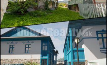 PREDAJ: Tri domy so stodolou pod Stolicou, 236 m2/ 670 m2 pozemok, Rejdová, okres Rožňava
