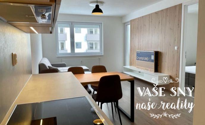 Na prenájom zariadený 2 izb byt v novostavbe na ul. Za Liptovskou v Trenčíne.