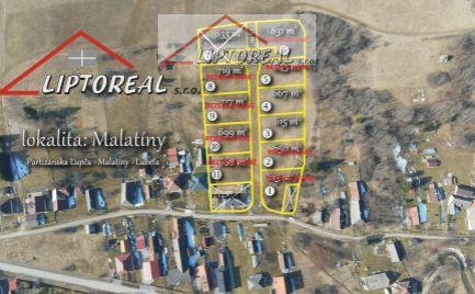 Pozemky na výstavbu rodinných domov  Malatíny