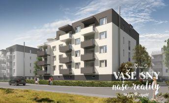 OS Hanzlíkovská, Bytový dom č.10, 4-izbový byt č. 20 v štandardnom prevedení za 210.600 €