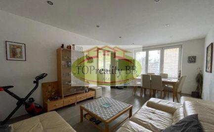 TOP PONUKA !!!  tehlový trojizbový byt 91 m2,  v B. Bystrici - centrum – po kompletnej rekonštrukcii -  Cena 254 000€