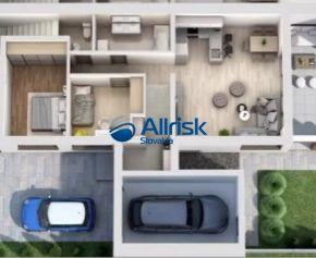 3-izbový byt s garážou, záhradkou, terasou a vlastným parkovacím miestom